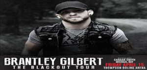 Brantley Gilbert At Thompson-Boling Arena On 04/15/16